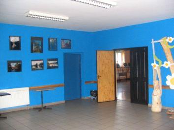 Prochowicki Ośrodek Kultury i Sportu - wnętrze budynku