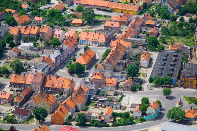 Zabytkowy układ średniowieczny miasta