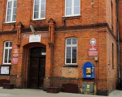 Ośrodek Pomocy Społecznej w Prochowicach - wejście do budynku