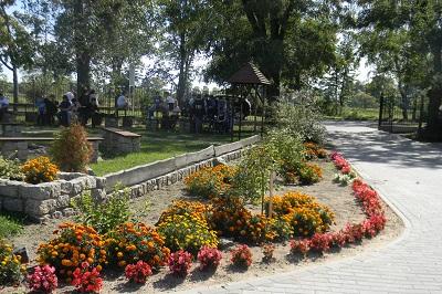 Szkoła Podstawowa nr 2 im. Tadeusza Kościuszki w Prochowicach - ogród