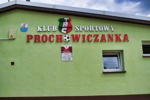 Budynek klubu sportowego Prochowiczanka