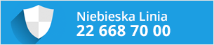 Potrzebujesz pomocy? Skontaktuj się z Niebieską Linią!