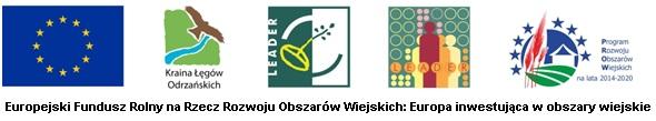 Logo: Europejski Fundusz Rolny na Rzecz Rozwoju Obszarów Wiejskich: Europa inwestująca w obszary wiejskie