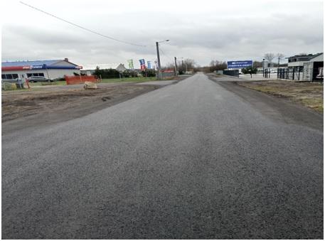 Wyremontowana ulica Polna