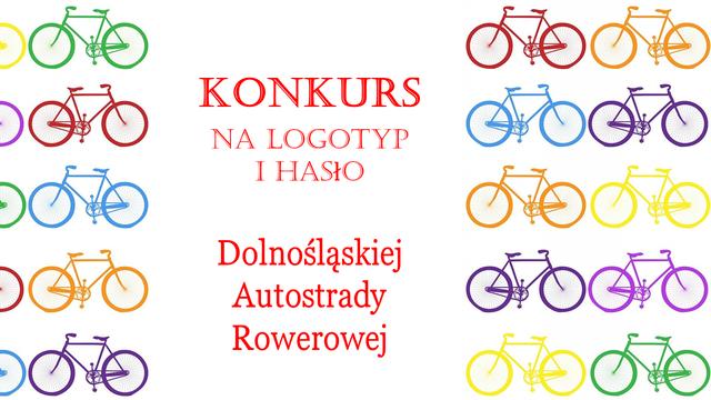Konkurs na logotyp i hasło Dolnośląskiej Autostrady Rowerowej