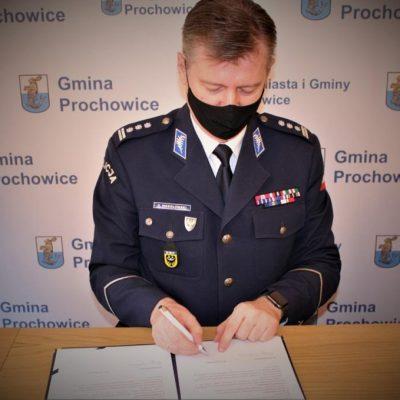 Uroczyste podpisanie aktu notarialnego
