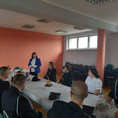 Spotkanie z przedstawicielami Gminnego Zarządu OSP