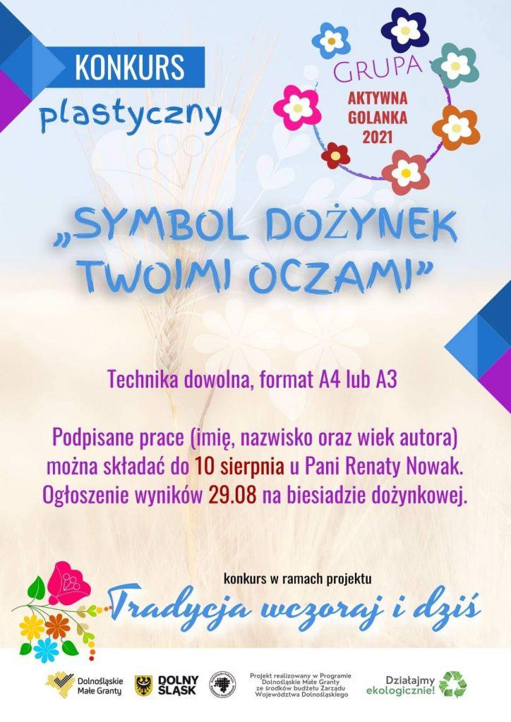 konkurs plastyczny - plakat
