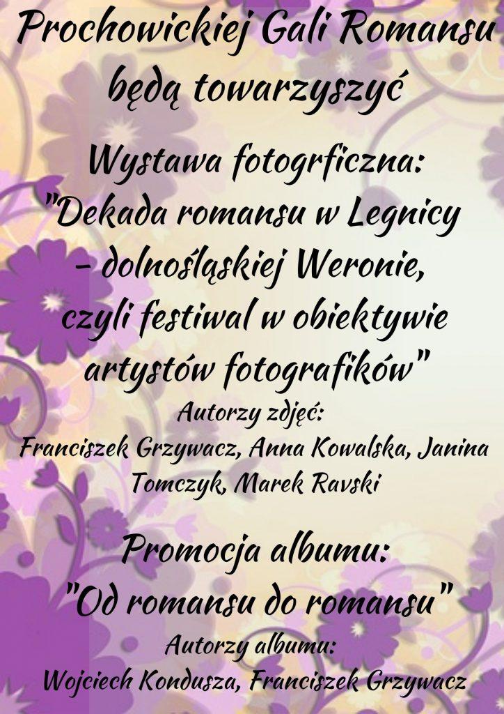 Prochowicka Gala Romansu - plakat 2