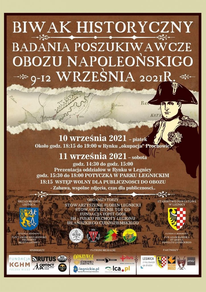 biwak historyczny - plakat