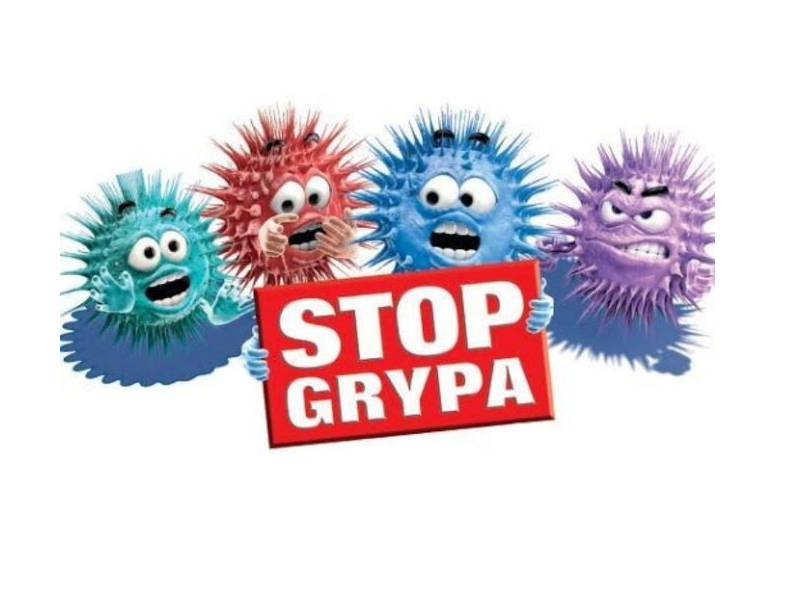 stop grypa -logo