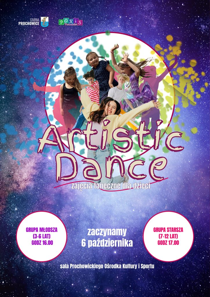 Artistic dance - plakat