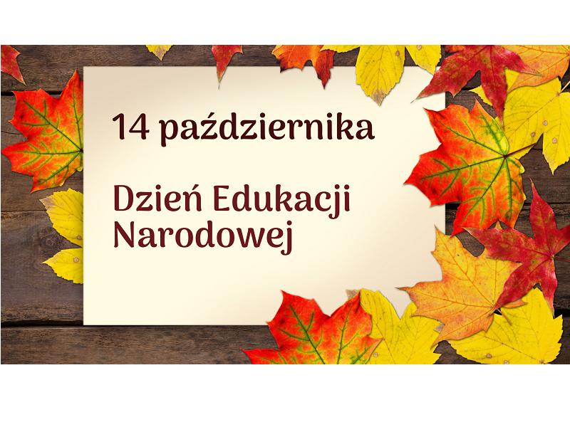Dzień Edukacji Narodowej -logo